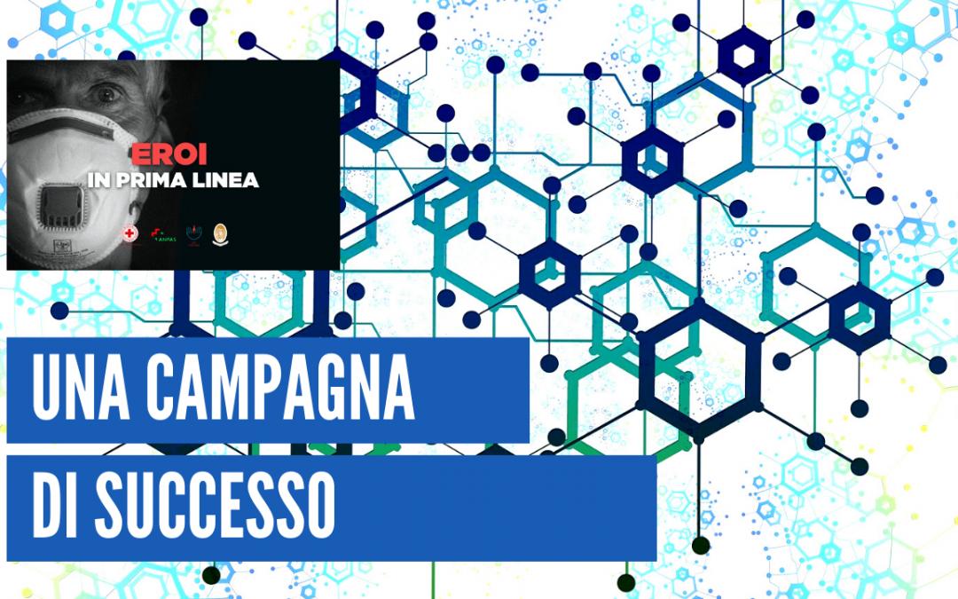 EROI IN PRIMA LINEA, grande successo per campagna di crowdfunding degli studenti… contro il coronavirus