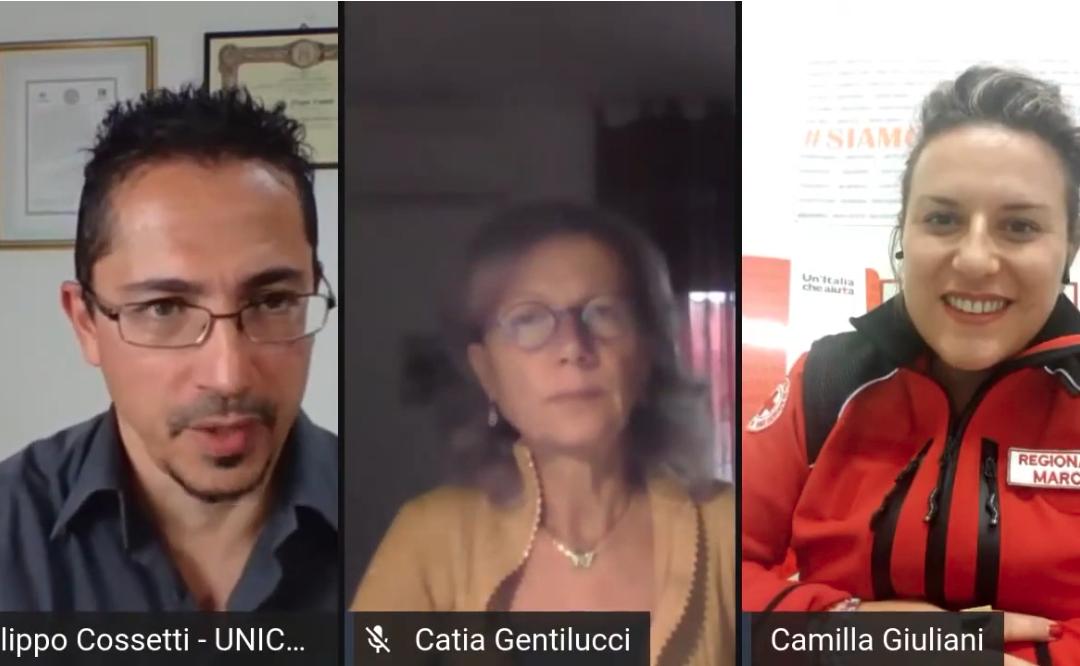 """Croce Rossa Italiana: """"grazie ad UNICAM e al Crowdfunding"""""""